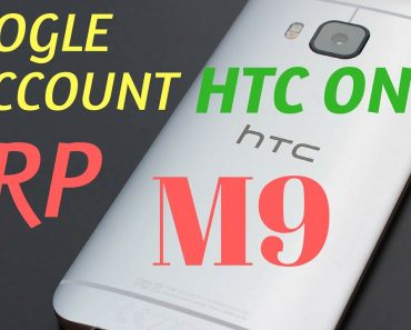Google Account FRP Bypass   HTC One M9   Android 6 0 Marshmallow