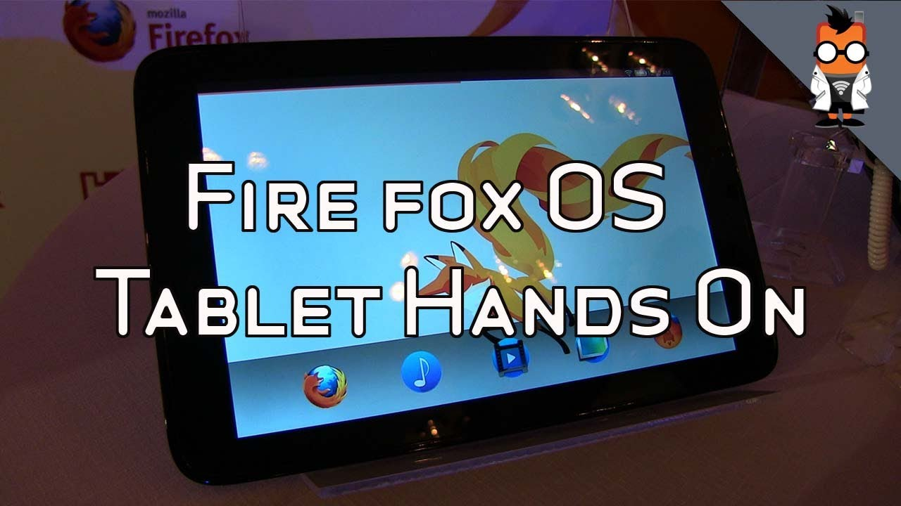 Firefox OS Tablet Hands On at Computex 2013