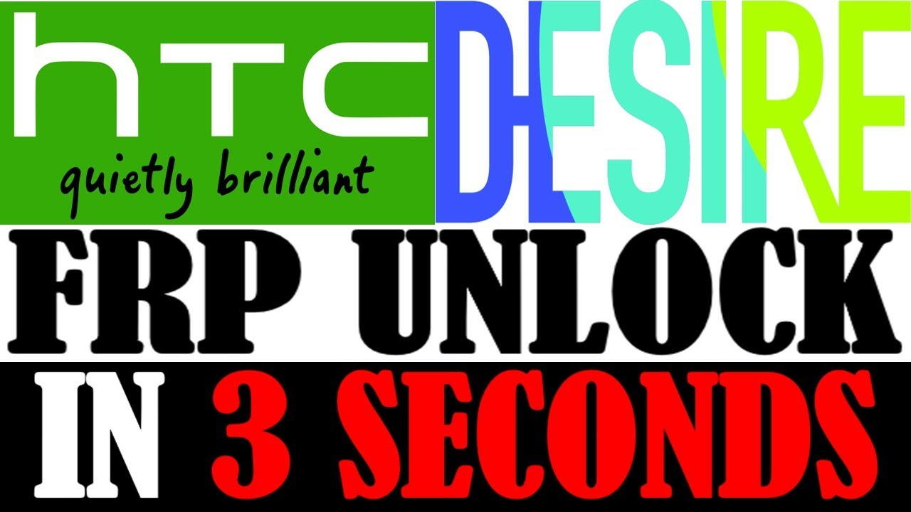 HTC DESIRE FRP UNLOCK IN 3 SECONDS WITH EASY METHOD 100000% SUCCESS