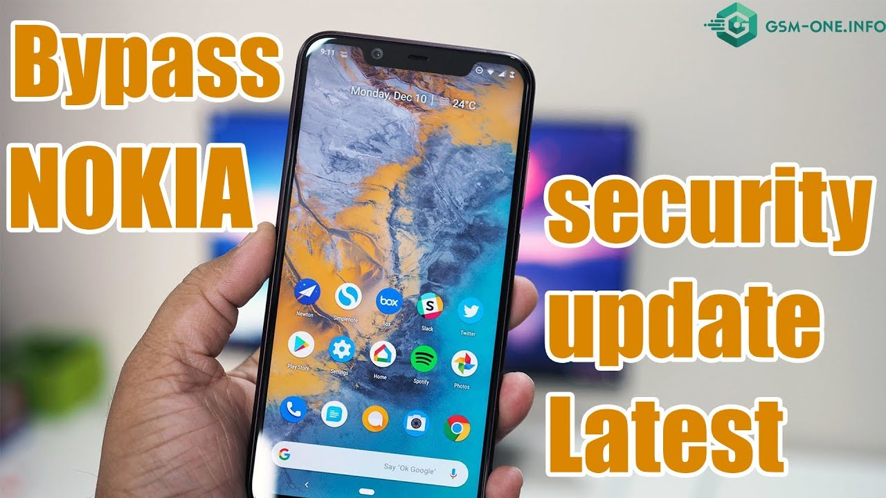 Bypass Google Account NOKIA Security Update Latest