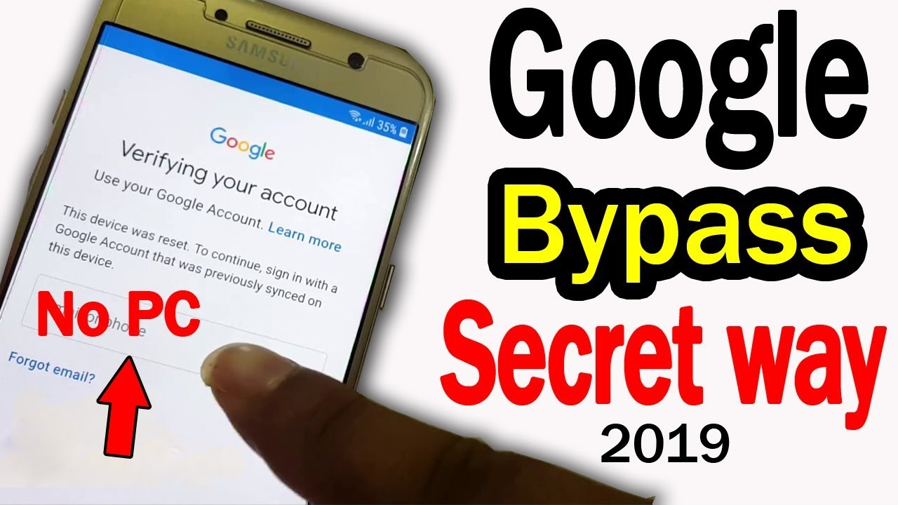 ►New Way 2019 ► FRP BYPASS,Without Talkback,Without PC – Android Unlock