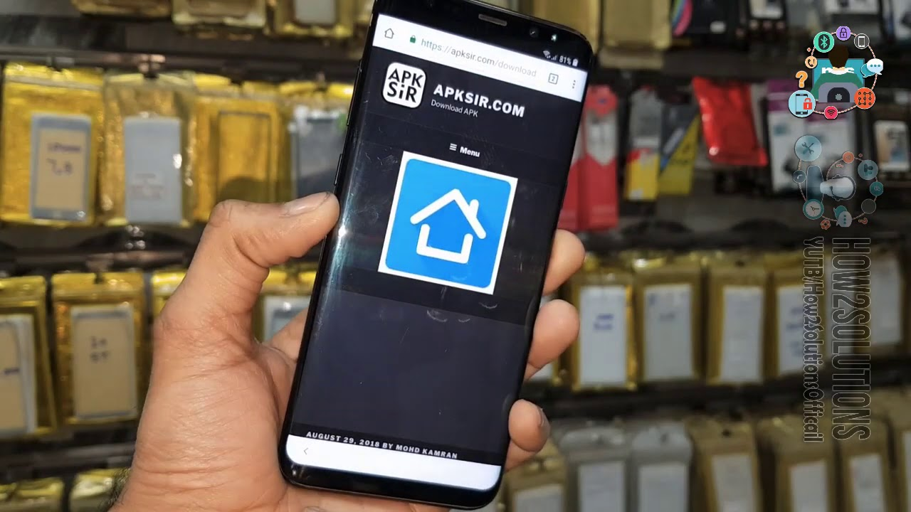 Samsung S8 frp bypass without computer 2019 HushSMS APK