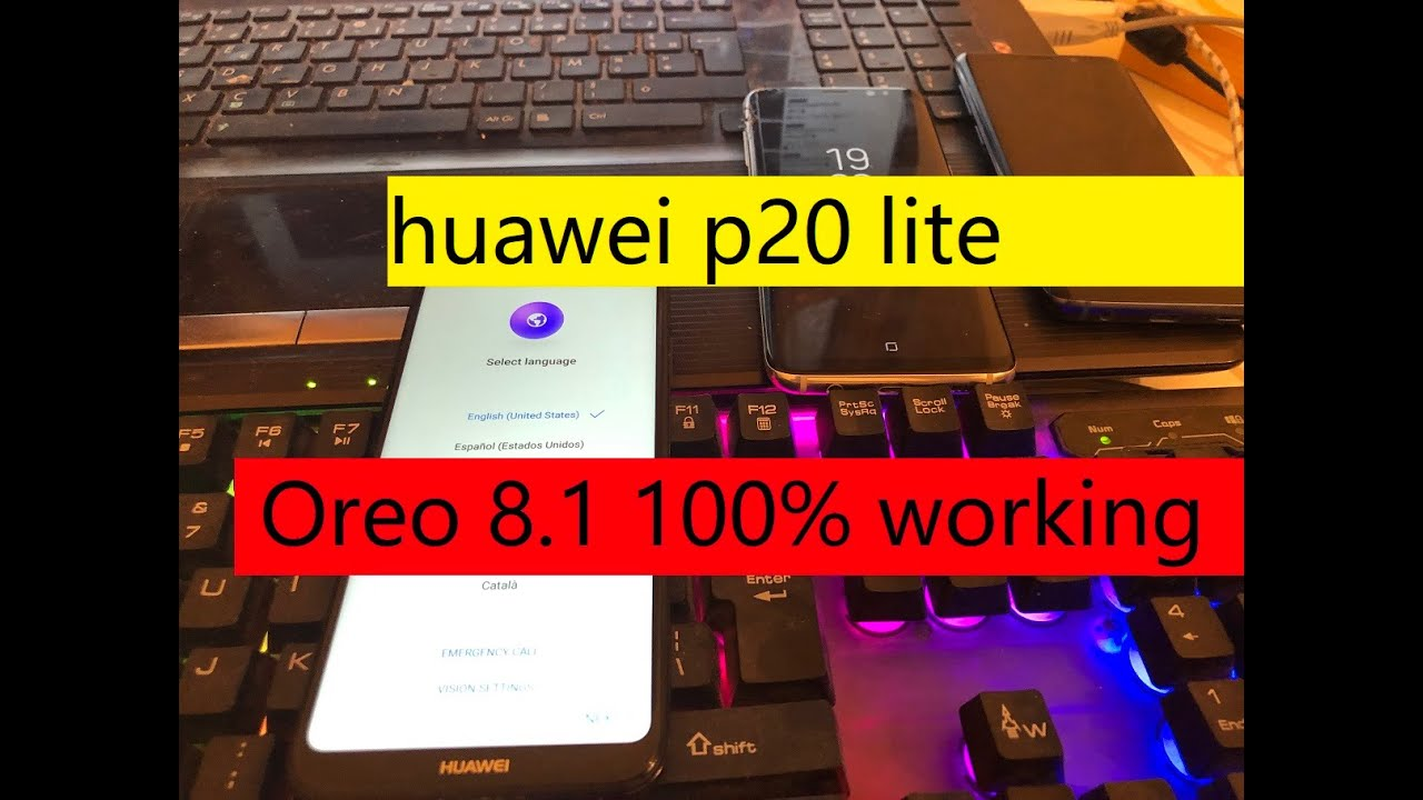 NO PC 2019 All huawei p20 lite 2019 Remove Google Account Unlock FRP Android Oreo 8.1 100% working