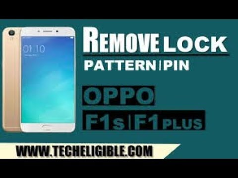 OPPO F1 PLUS X9009 FORMAT PATTEN AND UNLOCK FRP VIA MRT