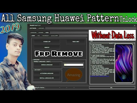 All samsung, Hauwei, HTC, Sony, FRP Unlock Tool || Pattern Unlock Without Data Loss