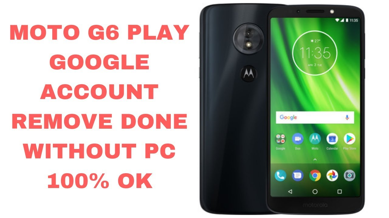 Moto G6 Play Google Account Bypass Done Without PC   | mobile cell phone |