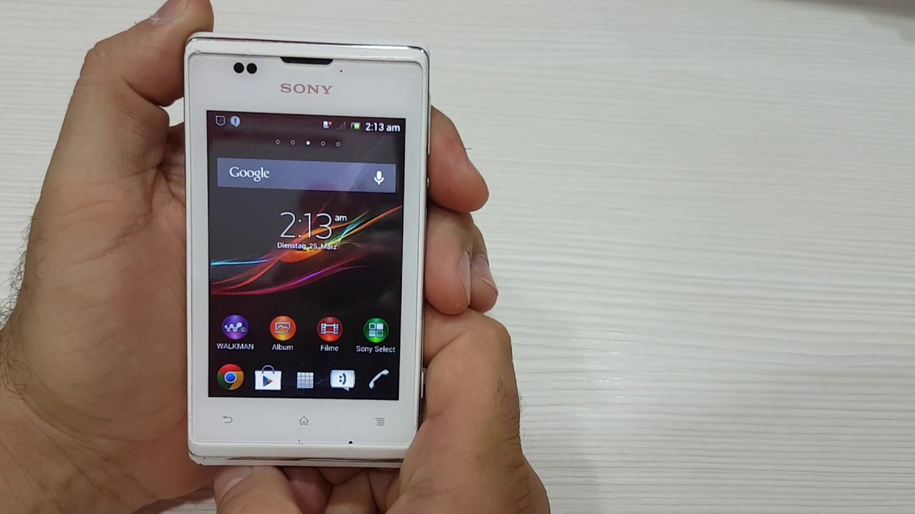 Sony Xperia E C1505 HARD RESET Restore to Factory Settings