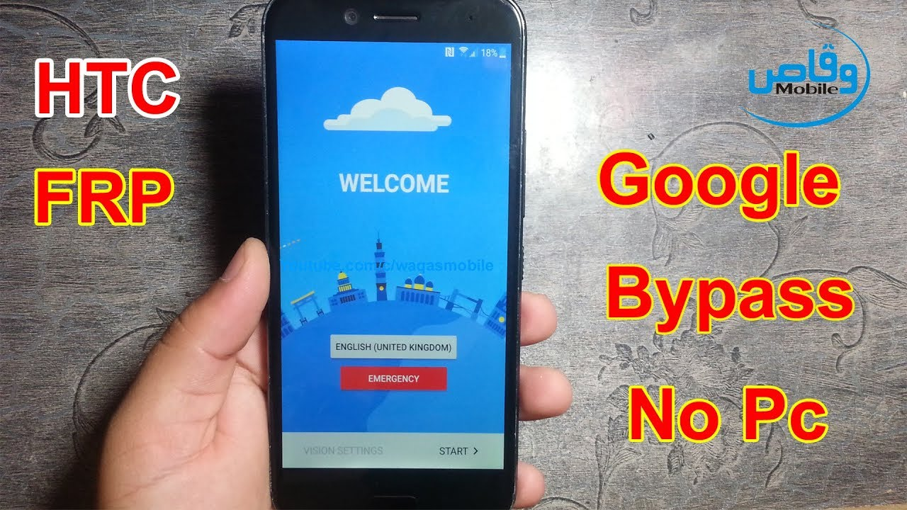 How to Bypass Frp/Google Lock HTC 10 EVO Without Pc by Waqas Mobile
