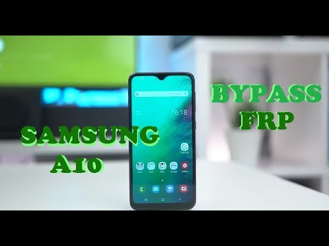 Unlock Google and Bypass FRP Samsung Galaxy A10 – 2019 Security Update – Android 9