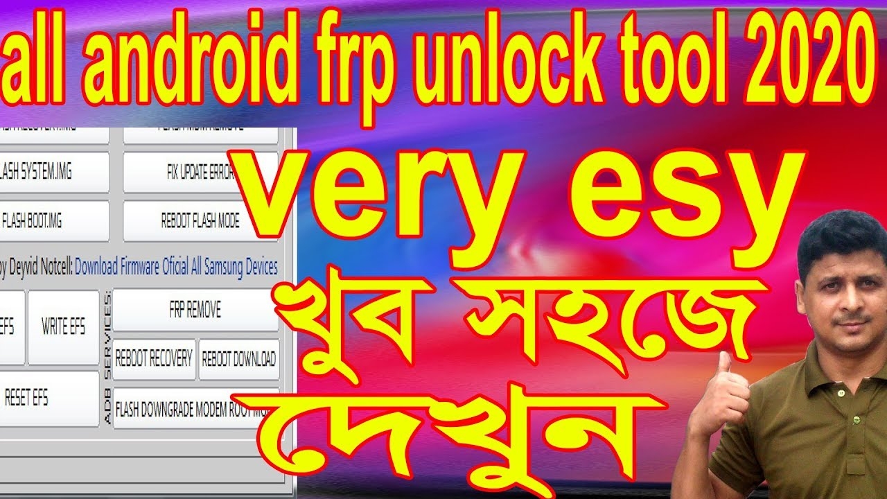 all android frp unlock tool 2020