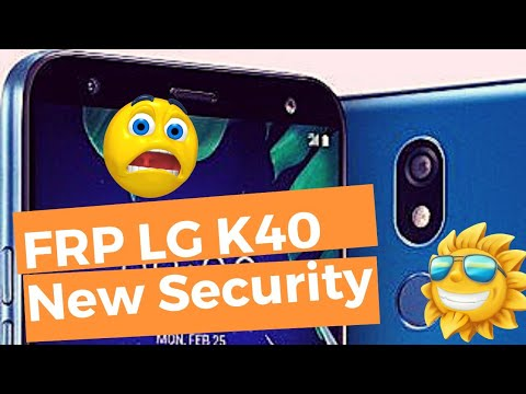 QUITAR CUENTA GOOGLE LG K40 Android 8.1.0 – Bypass FRP LM-X420HM